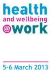 health and wellbeing 2013